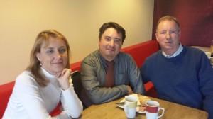 Maria, Andrzej and John