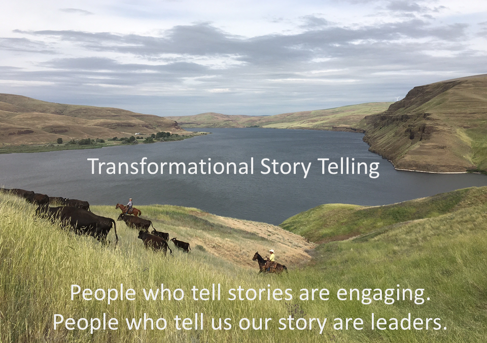 How You Can Tell a Transformational Story